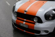 MINI weiß orange Front