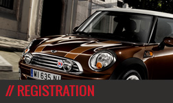 MINI Weekend - Registration